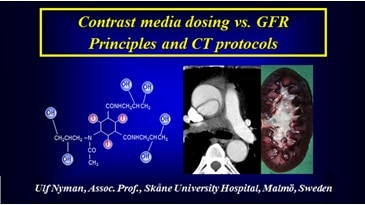 Contrast Media dosing vs. GFR Principles and CT protocols